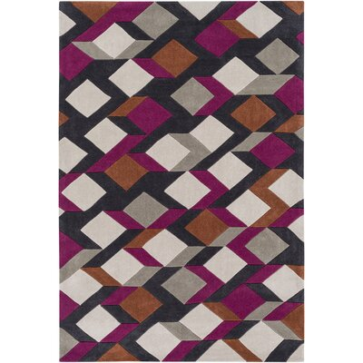 Conroy Hand-Tufted Area Rug Rug size: Rectangle 8 x 11