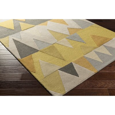 Nida Hand-Tufted Area Rug Rug Size: Rectangle 4 x 6