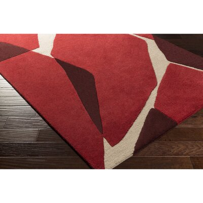 Nida Hand-Tufted Area Rug Rug Size: Rectangle 5 x 76