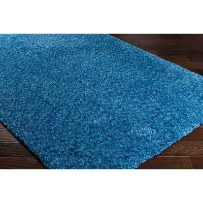 Klima Blue Area Rug Rug Size: Rectangle 8 x 10
