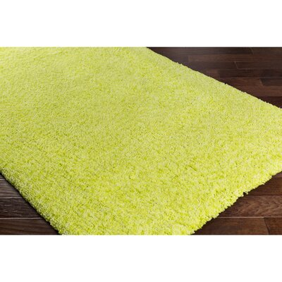 Klima Yellow/Green Area Rug Rug Size: 2' x 3'