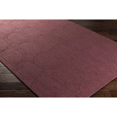Belle Hand-Loomed Brown Area Rug Rug Size: 2 x 3
