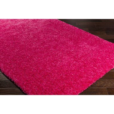Klima Pink Area Rug Rug Size: Rectangle 5 x 76