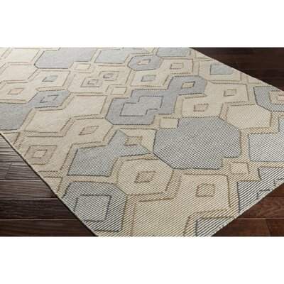 Holden Hand-Woven Neutral Area Rug Rug Size: Rectangle 8 x 10