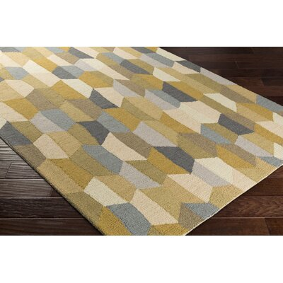 Senger Hand-Tufted Beige/Gray Area Rug Rug Size: Rectangle 2 x 3