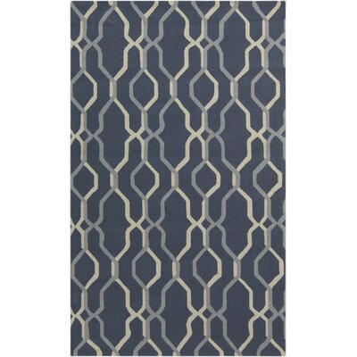 Kinde Teal Outdoor Rug Rug Size: 5 x 8