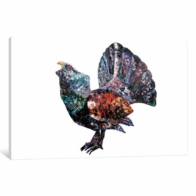 Capercaillie Painting Print on Wrapped Canvas Size: 12