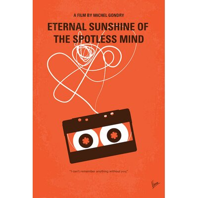 Eternal Sunshine of the Spotless Mind Vintage Advertisement on Wrapped Canvas