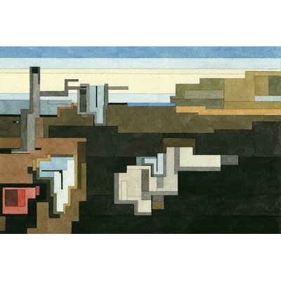 The Persistence of Memory Graphic Art on Wrapped Canvas Size: 12