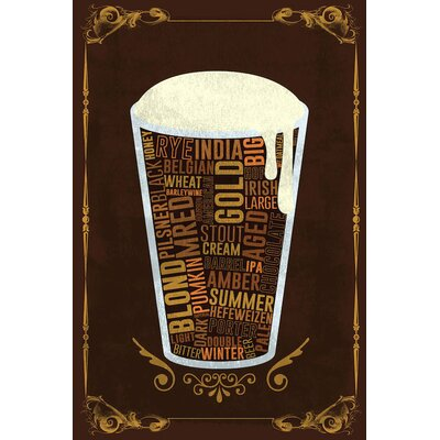 Your Beer, Your Way Graphic Art on Wrapped Canvas Size: 12