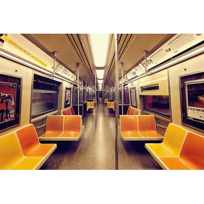 Soul Train Photographic Print on Wrapped Canvas Size: 12