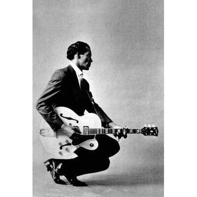 Chuck Berry #4 Photographic Print on Wrapped Canvas