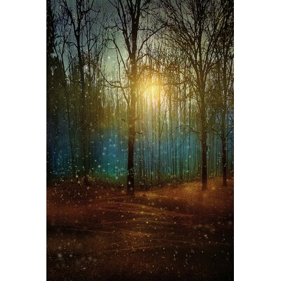 Beautiful Winter Graphic Art on Wrapped Canvas Size: 12