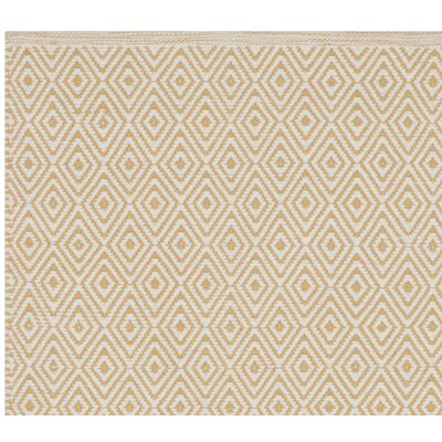 Shevchenko Place Hand-Woven Ivory/Gold Area Rug Rug Size: Rectangle 9 x 12