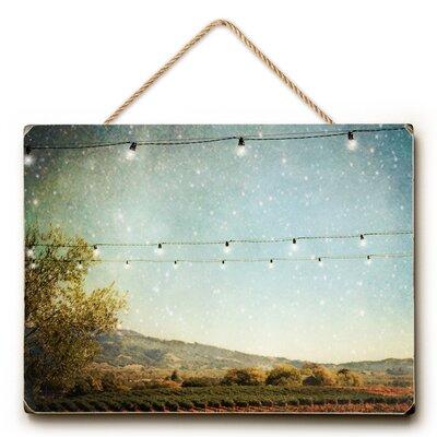 Starlit Vineyard Photographic Print