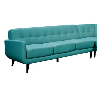 Goldberg Sofa Color: Teal