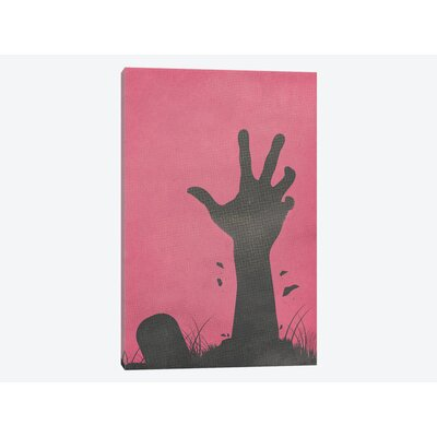 Don't Whistle by the Cemetery Graphic Art on Wrapped Canvas