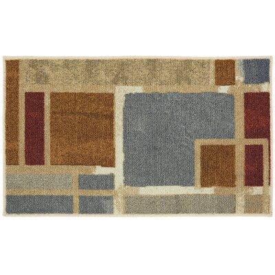 Shumake Beige/Gray Area Rug Rug Size: 16 x 26