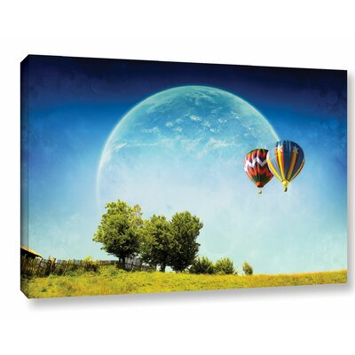 Dreamland Explorer Photographic Print on Wrapped Canvas Size: 12