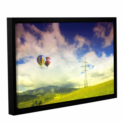 Duo Magic Framed Photographic Print on Canvas Size: 12