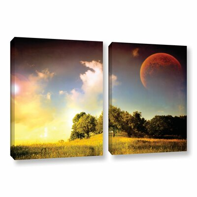 Everlasting Season 2 Piece Photographic Print on Wrapped Canvas Set Size: 18