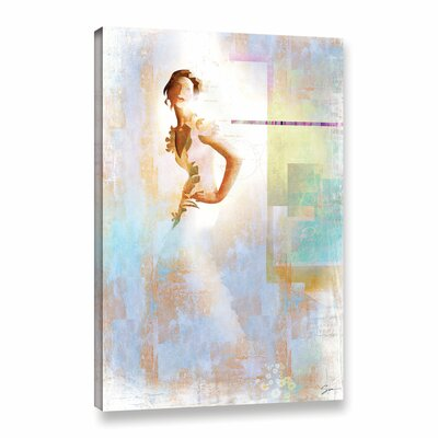 Diva I Painting Print on Wrapped Canvas Size: 18
