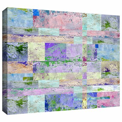 Abstract I Painting Print on Wrapped Canvas Size: 14
