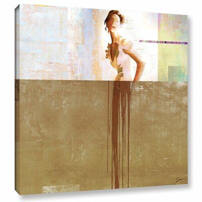 Dissolve III Painting Print on Wrapped Canvas