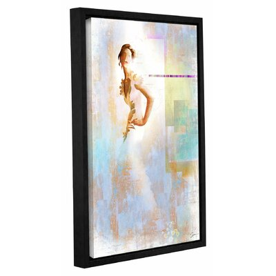 Diva I Framed Painting Print on Wrapped Canvas Size: 18