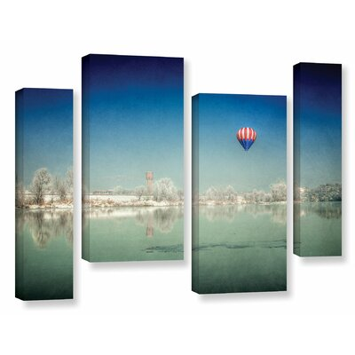 Winter Dream 4 Piece Photographic Print on Wrapped Canvas Set Size: 24