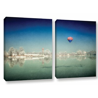 Winter Dream 2 Piece Photographic Print on Wrapped Canvas Set Size: 18
