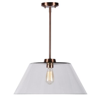 Aella 1-Light Inverted Pendant