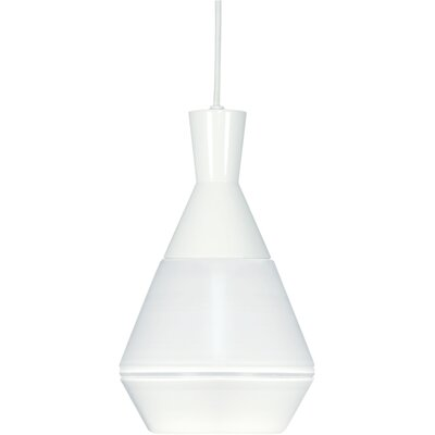Presnell 1-Light Mini Pendant Finish: Brushed Nickel