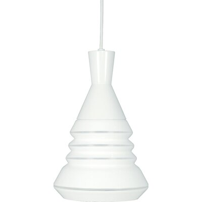 Prickett 1-Light Mini Pendant Finish: Brushed Nickel