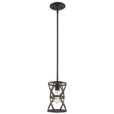 Prange 1-Light Mini Pendant Finish: Antique Silver