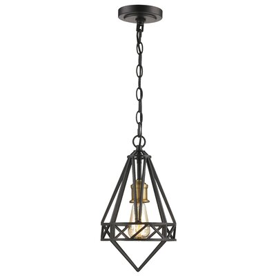 Rochon 1-Light Mini Pendant Size: 89 H x 10 W x 10 D