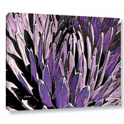 'Queen Victoria Agave' Photographic Print on Wrapped Canvas Size: 14