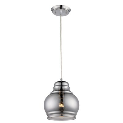 Sosebee 1-Light Mini Pendant Size: 71 H x 6.25 W x 6.25 D