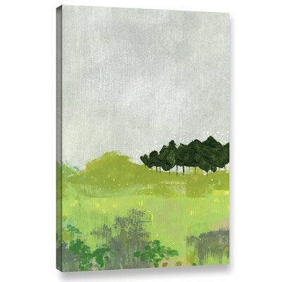 Trees 2 Painting Print on Wrapped Canvas