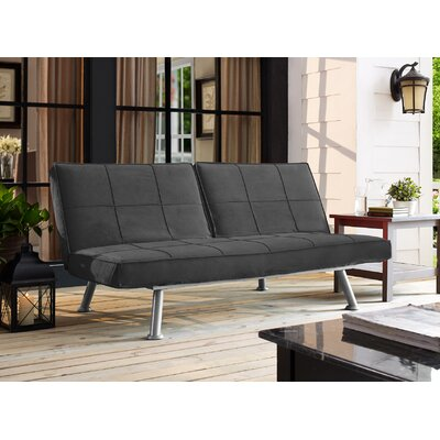 Begley Convertible Sofa Upholstery: Charcoal