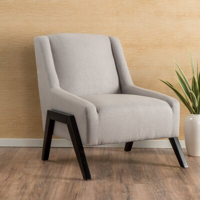 Gabler Slipper Chair Upholstery: Light Grey