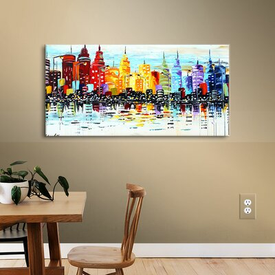 Citylife Canvas Print