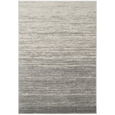 Schacher Gray Area Rug Rug Size: Rectangle 4 x 6