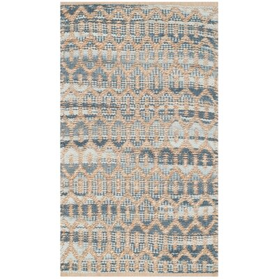 Astor Place Hand-Woven Natural/Gray Area Rug