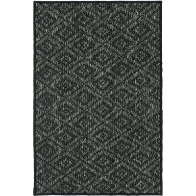 Lexington Charcoal Area Rug Rug Size: 8 x 11