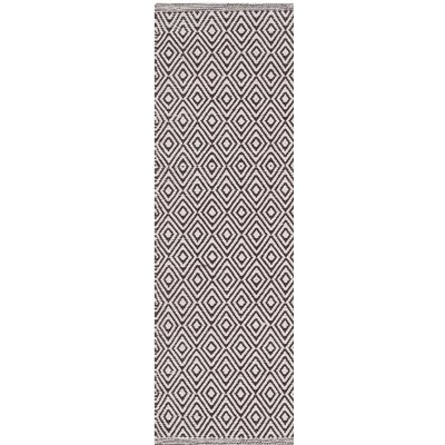 Sessums Hand-Woven Beige/Brown Area Rug Rug Size: Rectangle 9 x 12