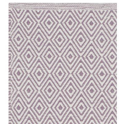 Sessums Hand-Woven Gray/Purple Area Rug Rug Size: Square 4