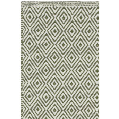Sessums Hand-Woven Beige/Green Area Rug Rug Size: Square 4'