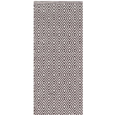 Shevchenko Place Hand-Woven Ivory/Chocolate Area Rug Rug Size: Rectangle 6 x 9