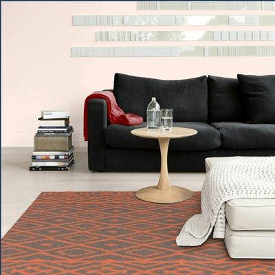 Ali Orange/Gray Area Rug Rug Size: Rectangle 33 x 5